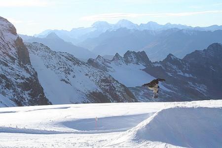 Sciare al Passo Stelvio